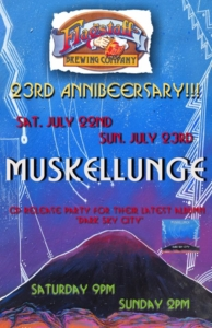 Annibeersary Patio Party with Muskellunge @ Flagstaff Brewing Company | Flagstaff | Arizona | United States