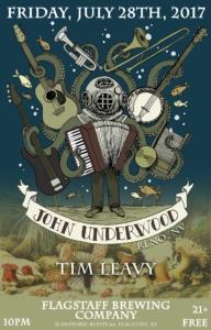 John Underwood with Tim Leavy @ Flagstaff Brewing Company | Flagstaff | Arizona | United States
